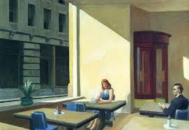 sonnenlicht in der cafeteria von Edward Hopper (1931-1967, United ...